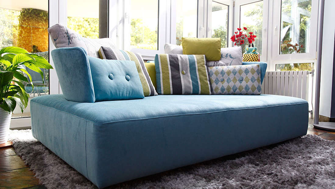 Modern sofa mycube fama living Home furniture rental montreal