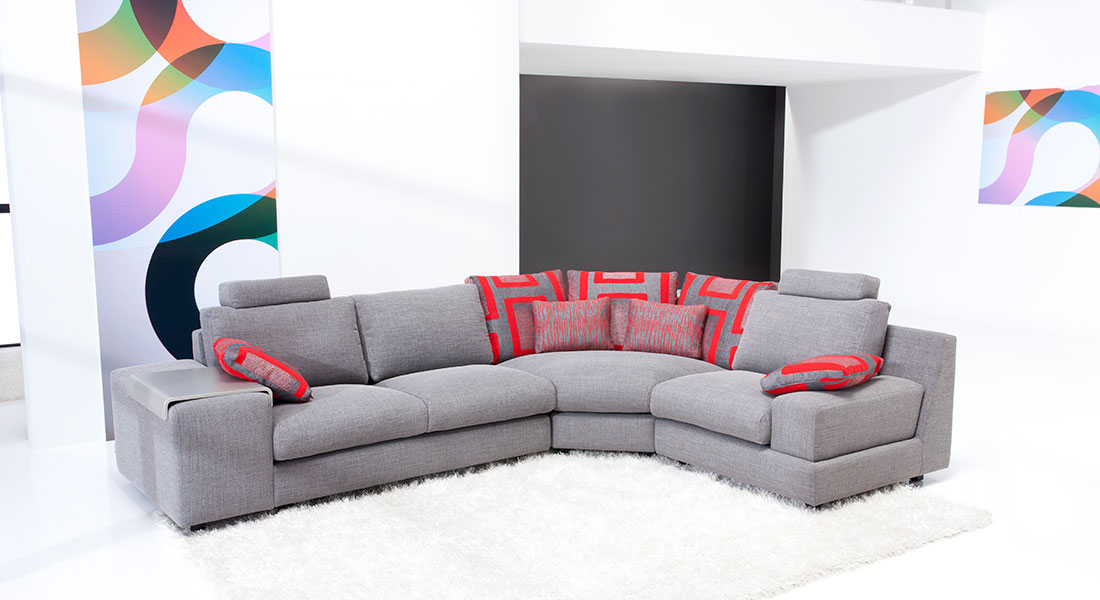 Contemporary sectional calisto famaliving montreal Home furniture rental montreal