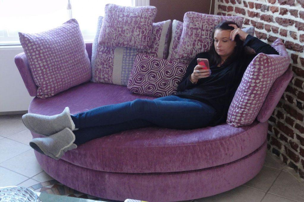 Lounge Loveseat Myapple Famaliving Montreal