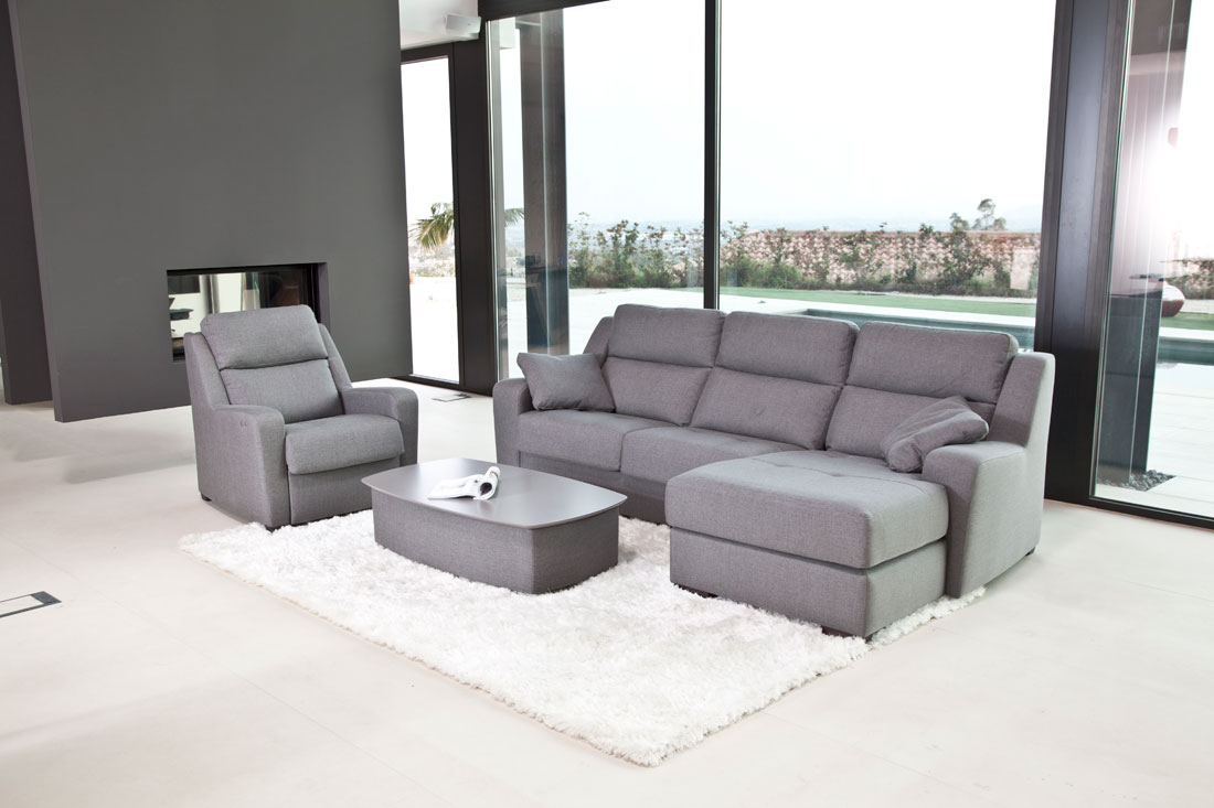 Sectional recliner sofa altea famaliving montreal Home furniture rental montreal