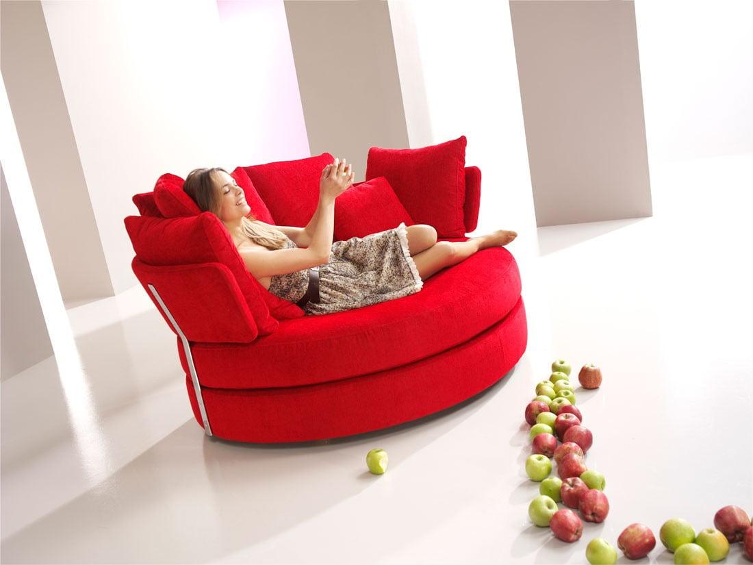 Lounge loveseat myapple famaliving montreal for Funky designer furniture