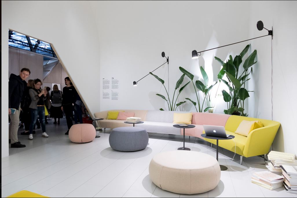 isaloni salone del mobile milano 2017 fama living. Black Bedroom Furniture Sets. Home Design Ideas